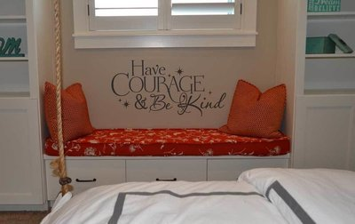 Have courage and be kind Disney decal wall sticker FB105