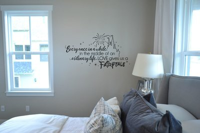Every once in awhile in the middle of Disney decal wall sticker KW1322