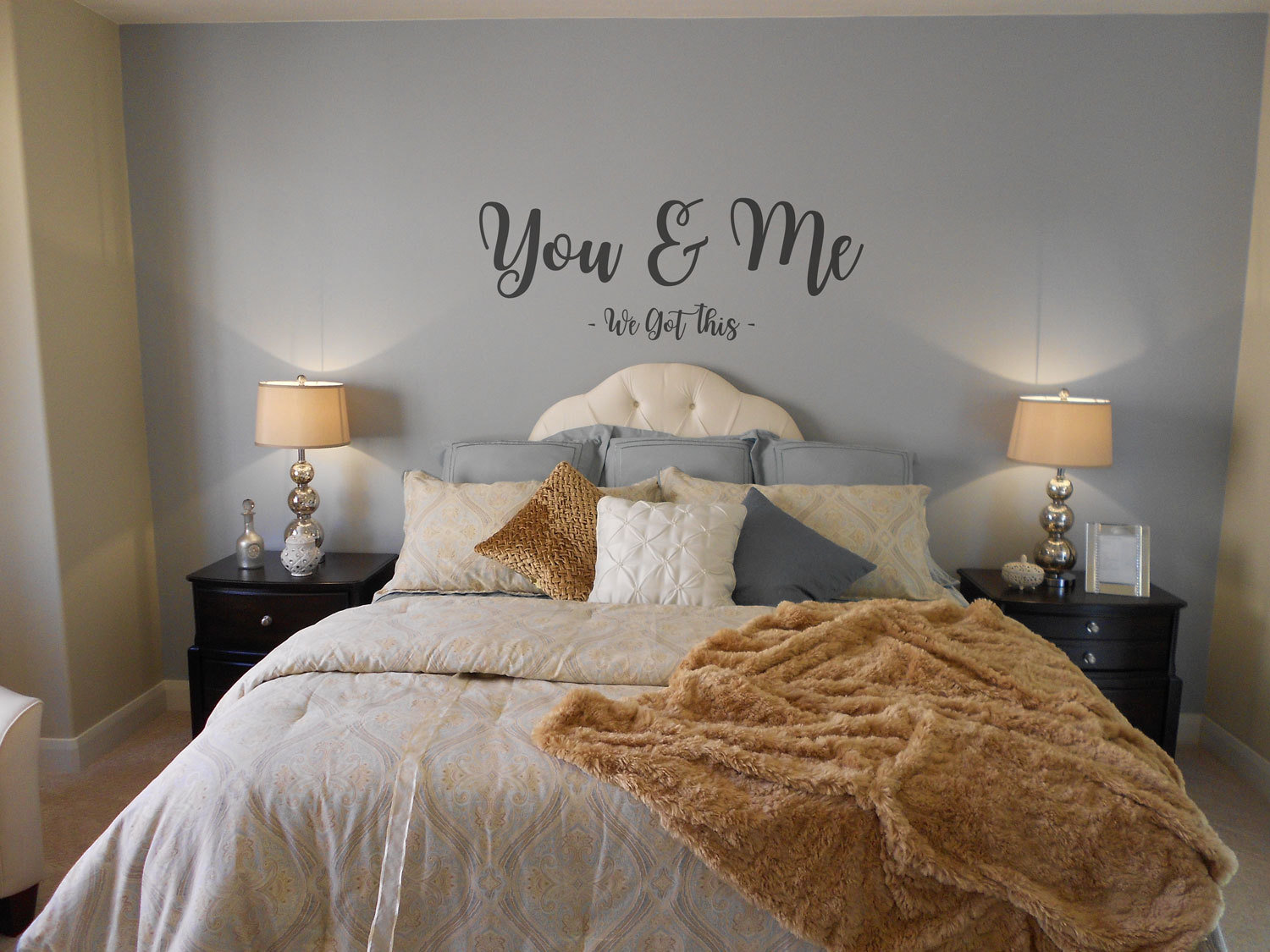 You & Me wall decal - we got this
