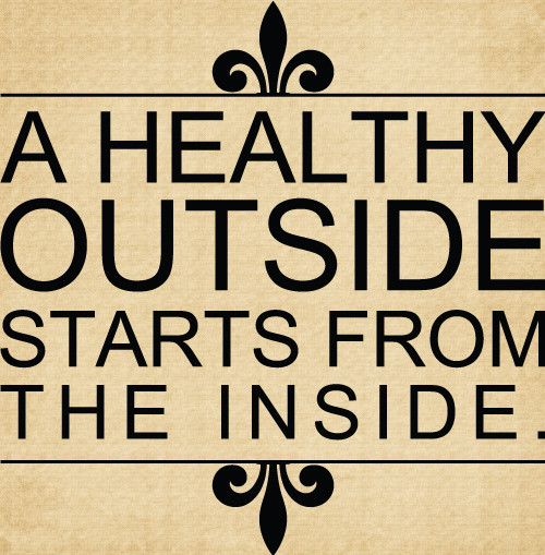 DOC106 A healthy outside starts from the inside