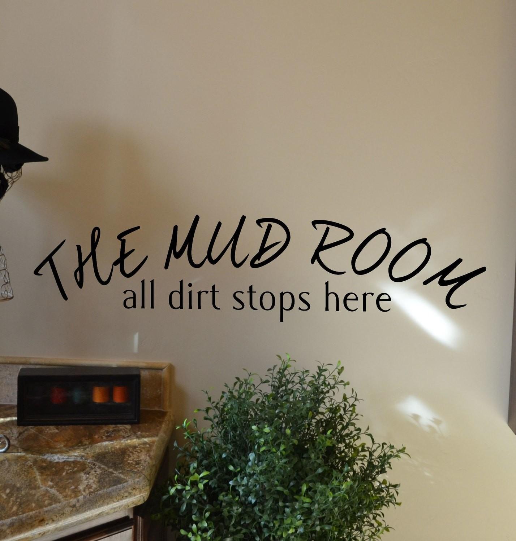 CLEARANCE The mud room 22 x 5 in black farmhouse decor