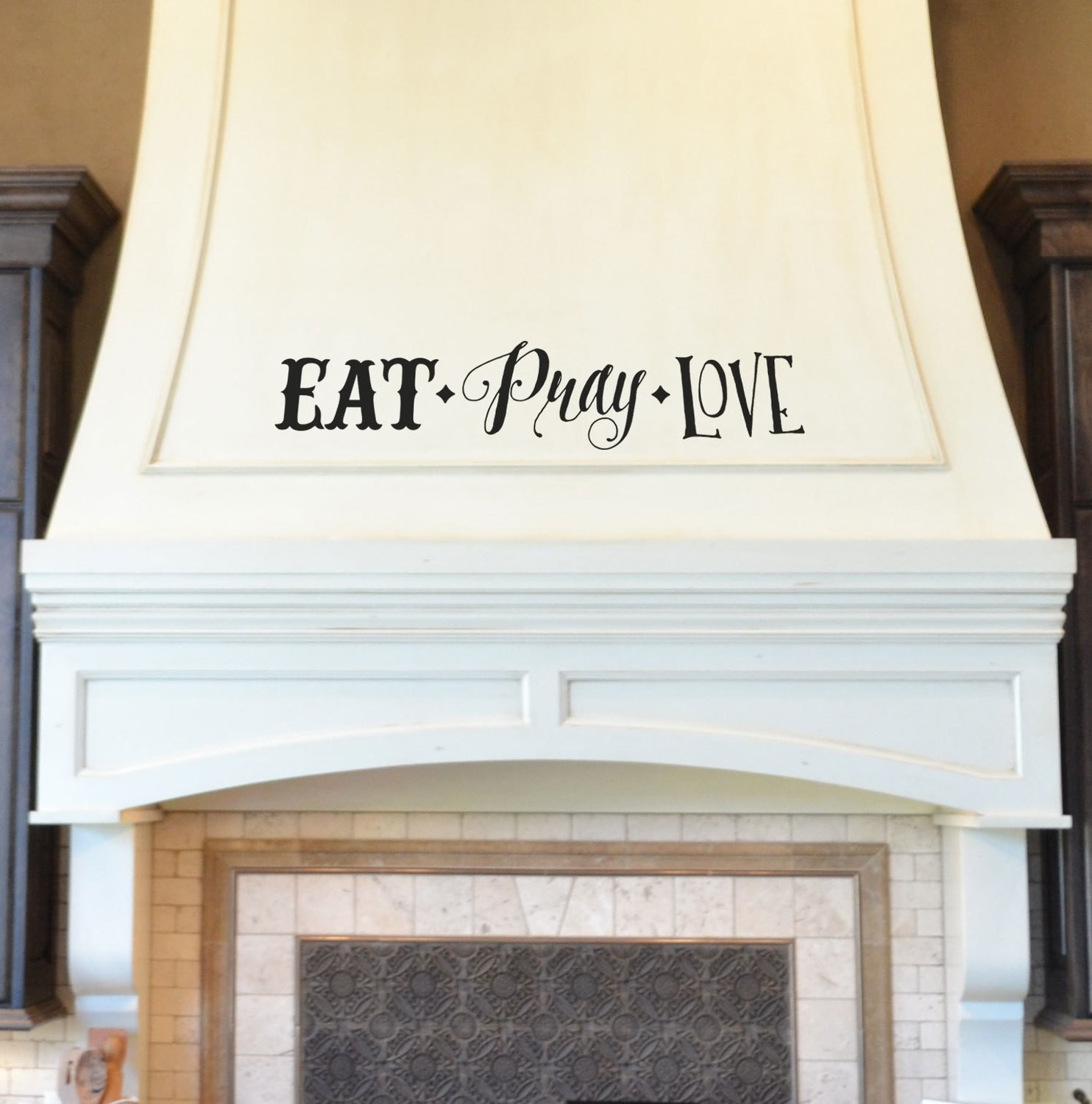CLEARANCE Eat pray love 24 x 5 black
