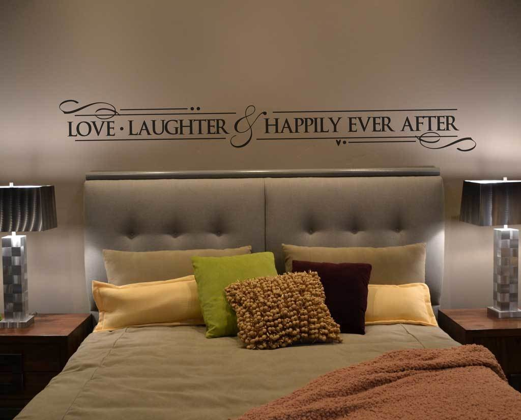 Love laughter and happily decal BC687