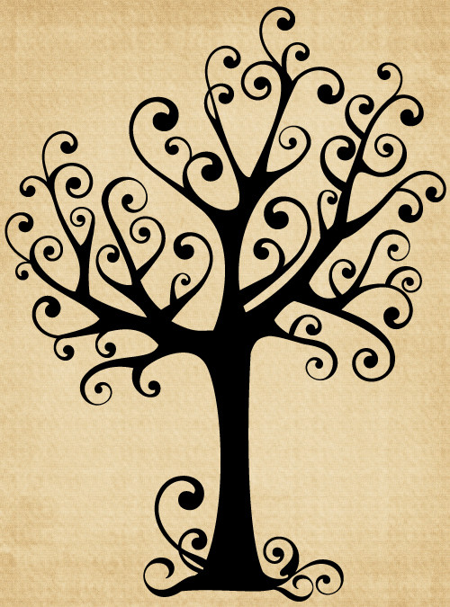 TR023 Tree with Curls