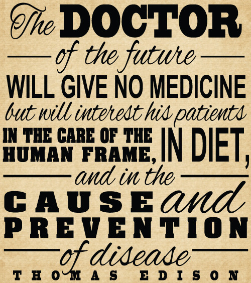 DOC137 The doctor of the future will give