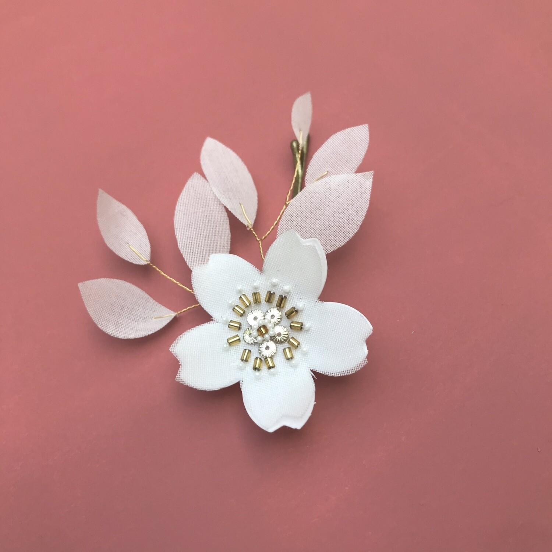 Pince Grande Sakura blanche