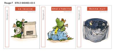 NOUVEAU 3 livres : SMOL et LUCIOLE niveau ROUGE F