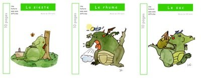 3 livres : SMOL et LUCIOLE niveau VERT A