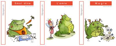 3 livres : SMOL et LUCIOLE niveau ROUGE B