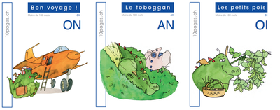 3 livres : SMOL et LUCIOLE niveau BLEU FONCE D