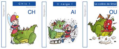 3 livres : SMOL et LUCIOLE niveau BLEU FONCE A