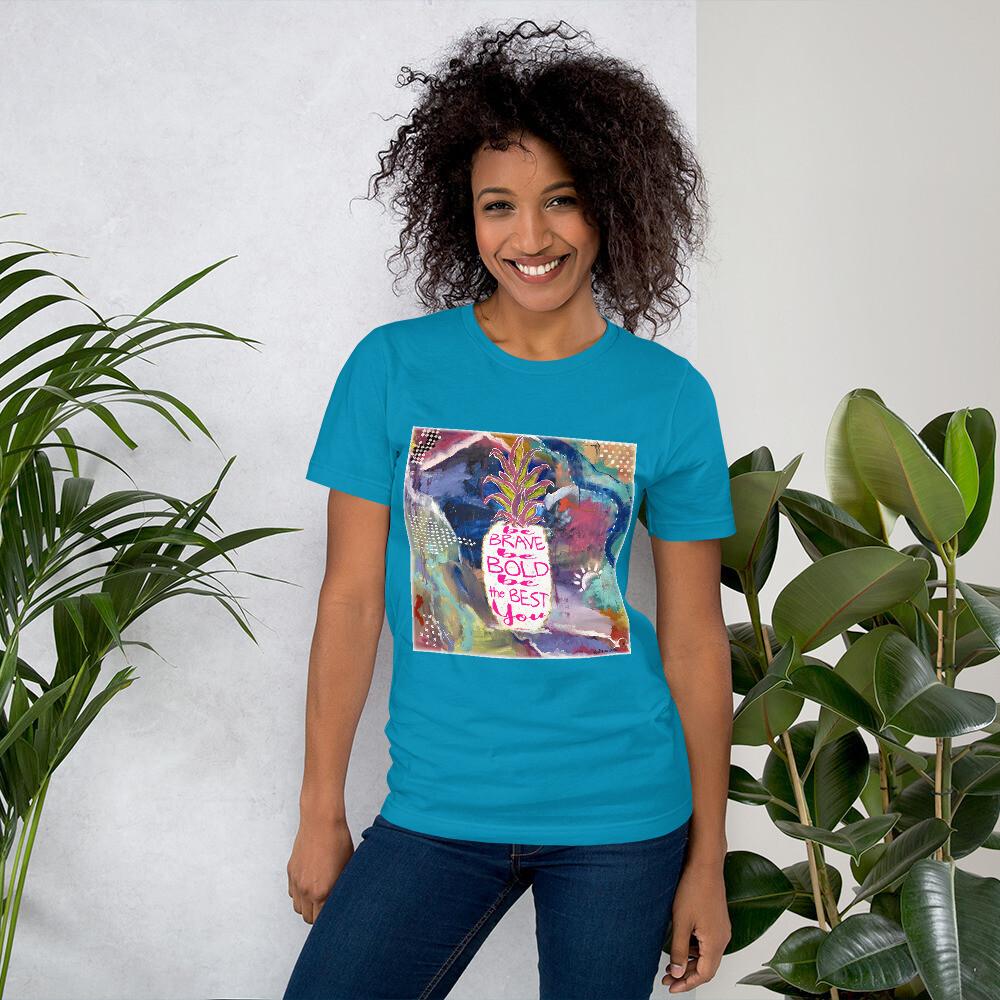 The Best You Short-Sleeve Unisex T-Shirt (Front Image)