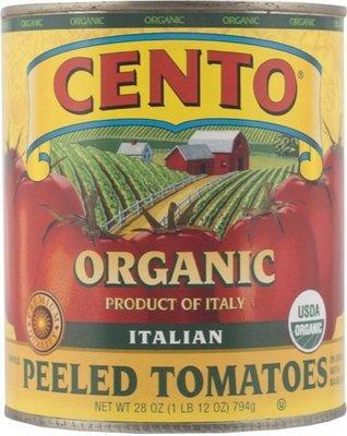 Cento Organic Whole Peeled Tomatoes