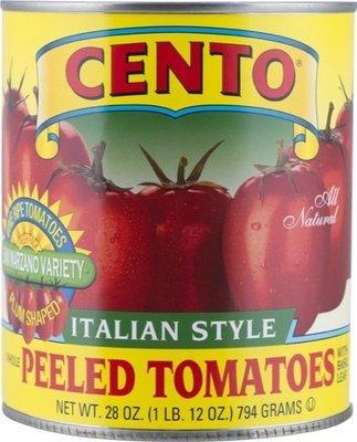 Cento California Italian Style Whole Peeled Plum Tomatoes