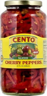 Cento Sliced Hot Cherry Peppers