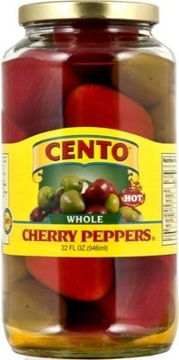 Cento Whole Hot Cherry Peppers