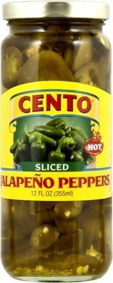 Cento Sliced Jalapeno Peppers