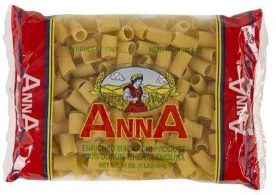Anna Mezzi Rigatoni