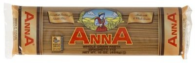 Anna Whole Grain Spaghetti