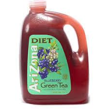 AriZona Diet Blueberry Green Tea