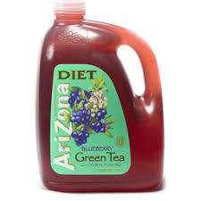 AriZona Diet Blueberry Green Tea