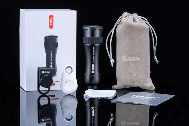 Kase 300mm 4K Professional Super Telephoto Zoom Phone Lens