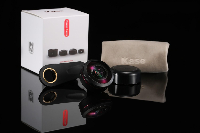 Kase 238 Degree Super Fisheye Mobile Phone Lens [Full frame]