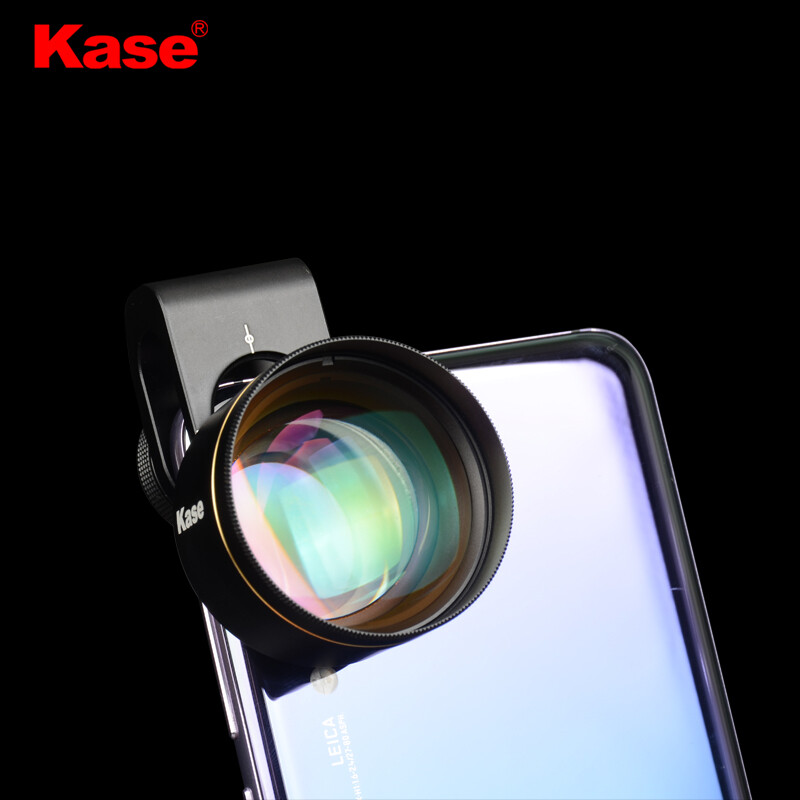Kase 4K 75mm Professional Macro Phone Lens (7.5CM focus distance, #BokehKiller)