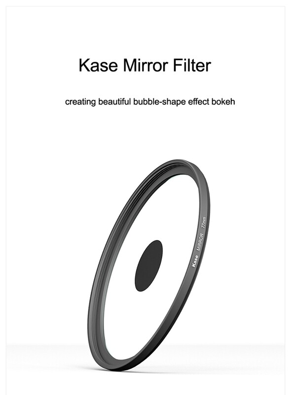 Kase Mirror Filter For DSLR Cameras [Dognut Bokeh Effect]