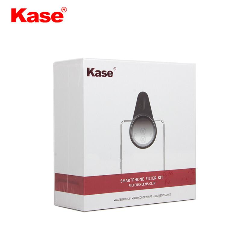 Kase Unique Blue Streak Magnetic Filter for Phone