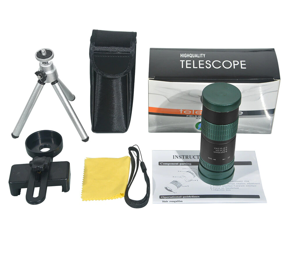 [Prebook] Apexel 8x-24x Variable Magnification Mobile Phone Adjustible Zoom Lens [New 2021]