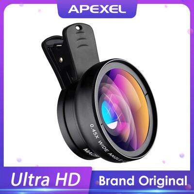 [Prebook] Apexel 2in1 0.45x Wide Angle + 12.5x Macro SmartPhone Lens