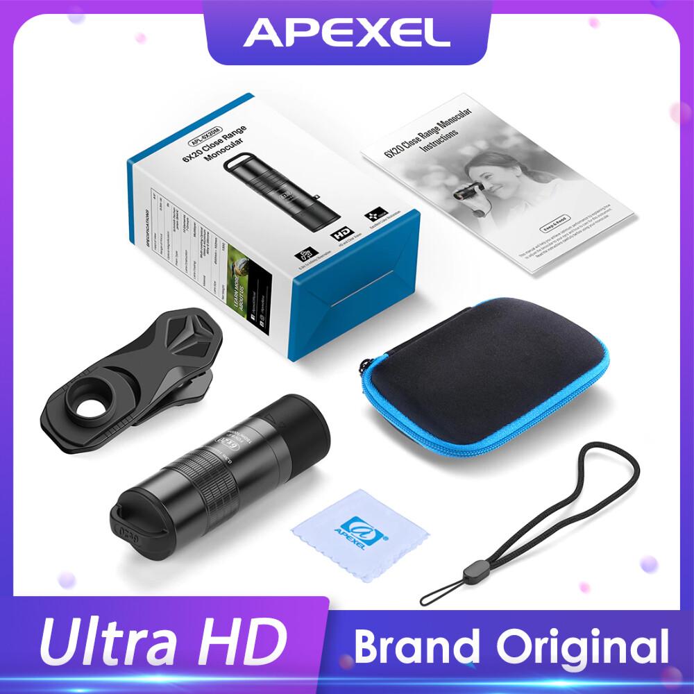 [Prebook] APEXEL 6X 2in1 Macro + Zoom 4K Professional Mobile Phone Lens [New 2021]