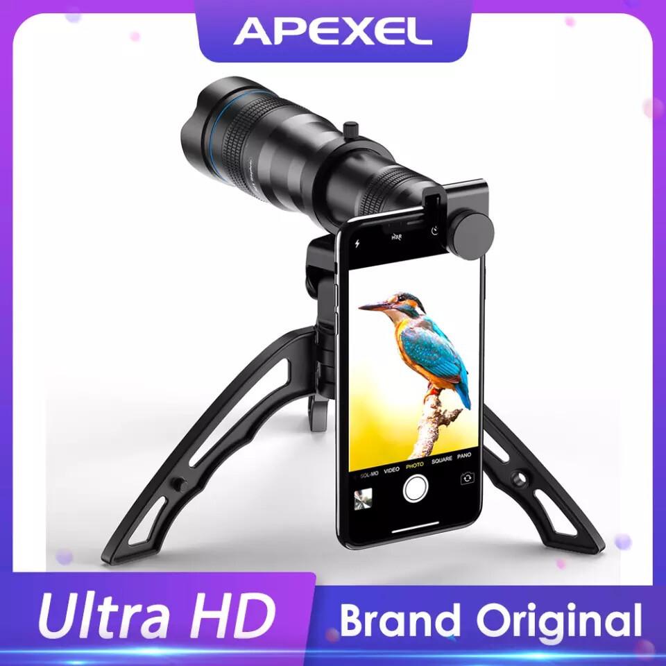 [Prebook] APEXEL 36x Super Zoom SmartPhone Lens (Telescope/ Telephoto / Monocular)
