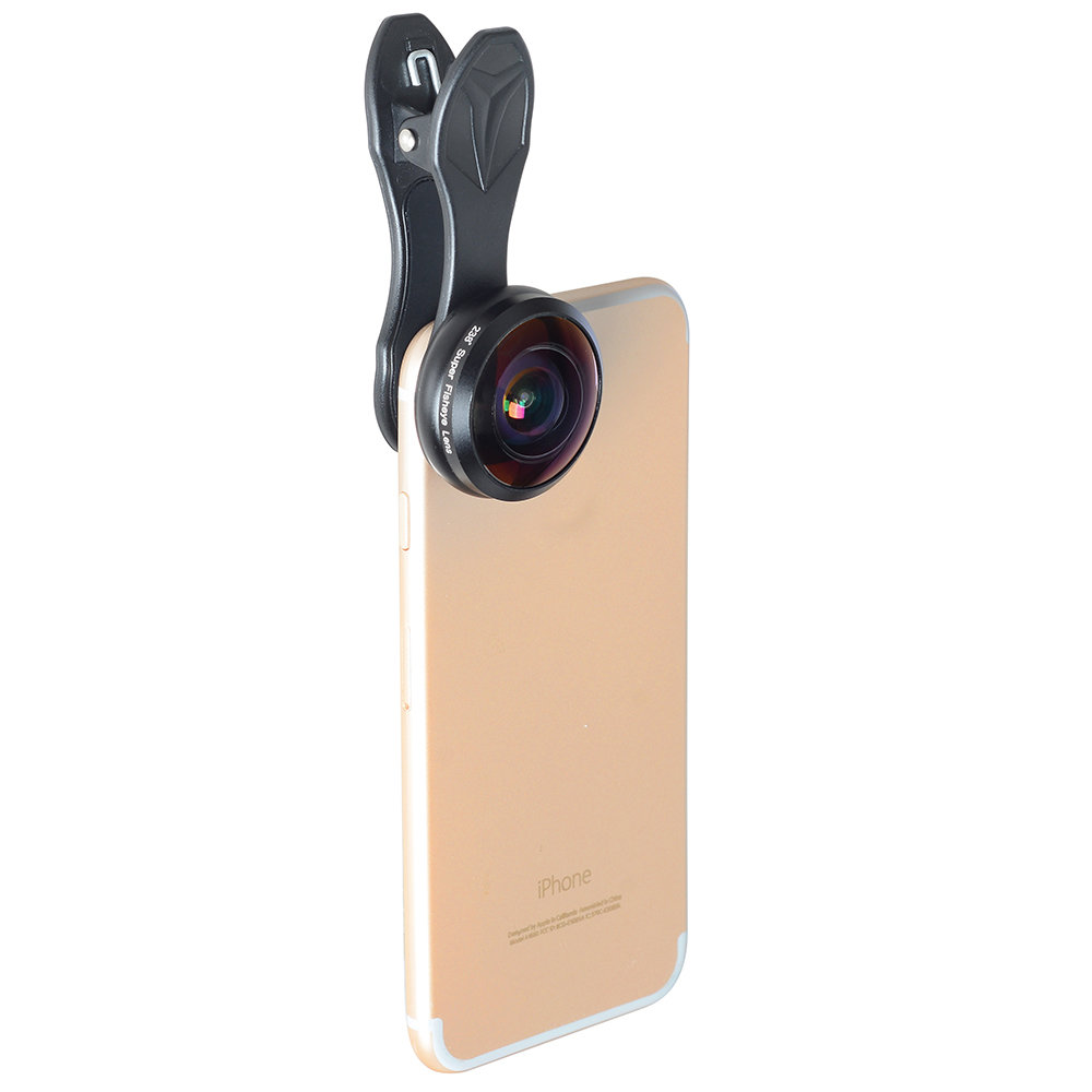 [Prebook] Apexel 238 degree Full HD Super Fisheye Phone Lens