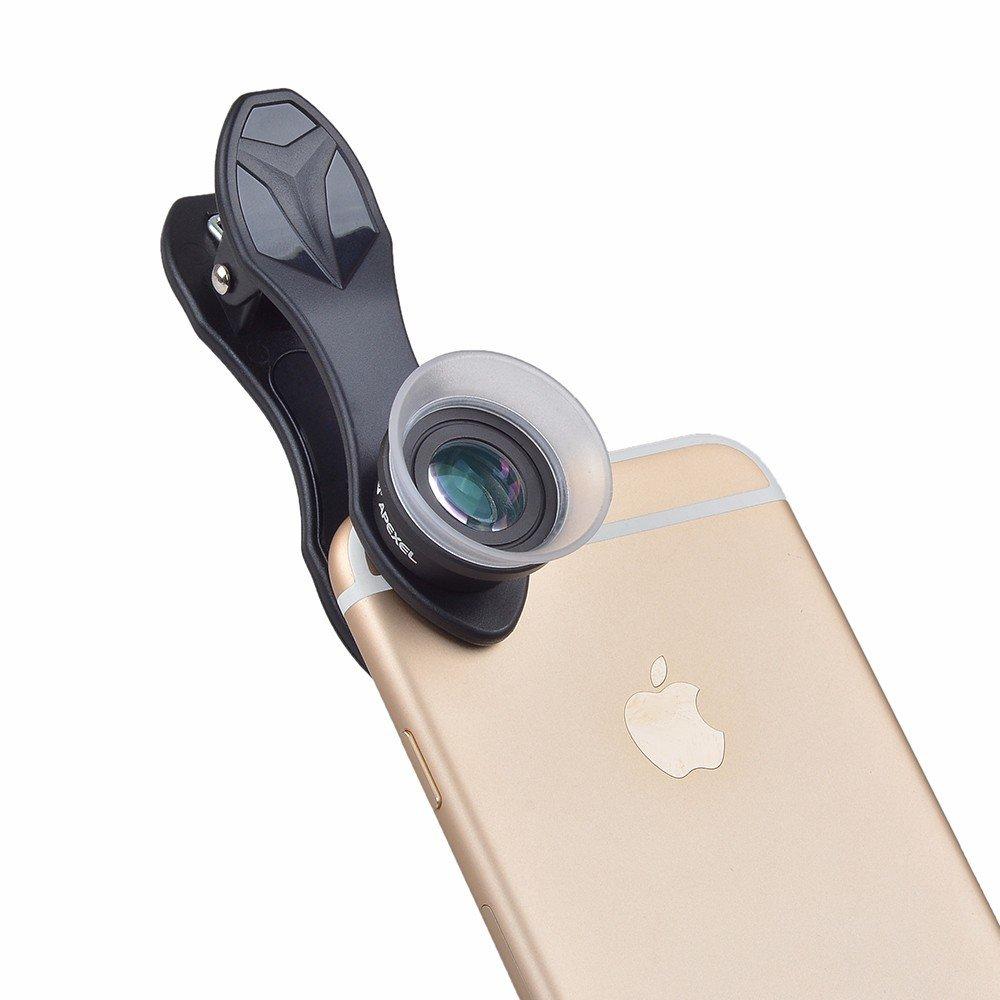 Apexel 2in1 12x24x Super Macro Mobile Phone Lens