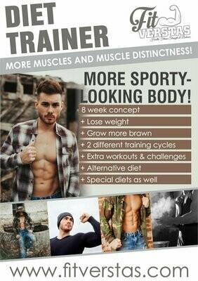 Diet Trainer (MEN/GYM)