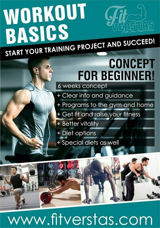 Workout Basics (MEN/GYM+HOME))
