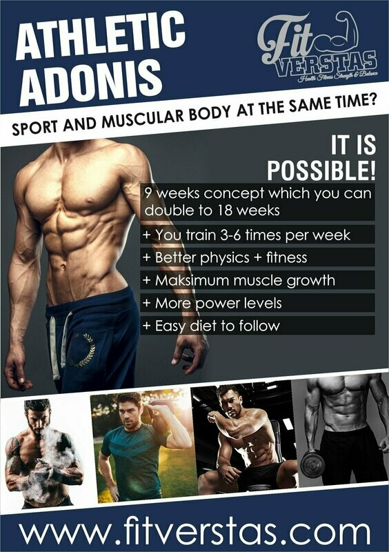 Athletic Adonis (MEN/GYM)