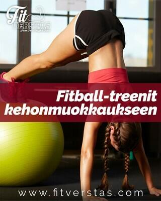 Fitball-treenit kehonmuokkaukseen