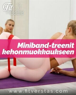 Miniband-treenit kehonmuokkaukseen