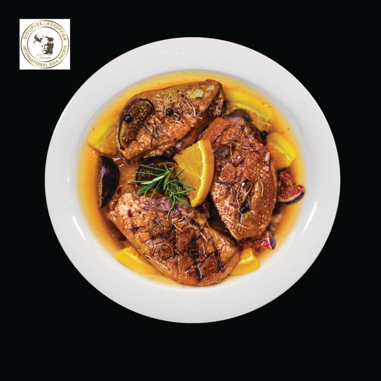 CANARD A L'ORANGE (duck in orange sauce) 1 PORTION deep-frozen