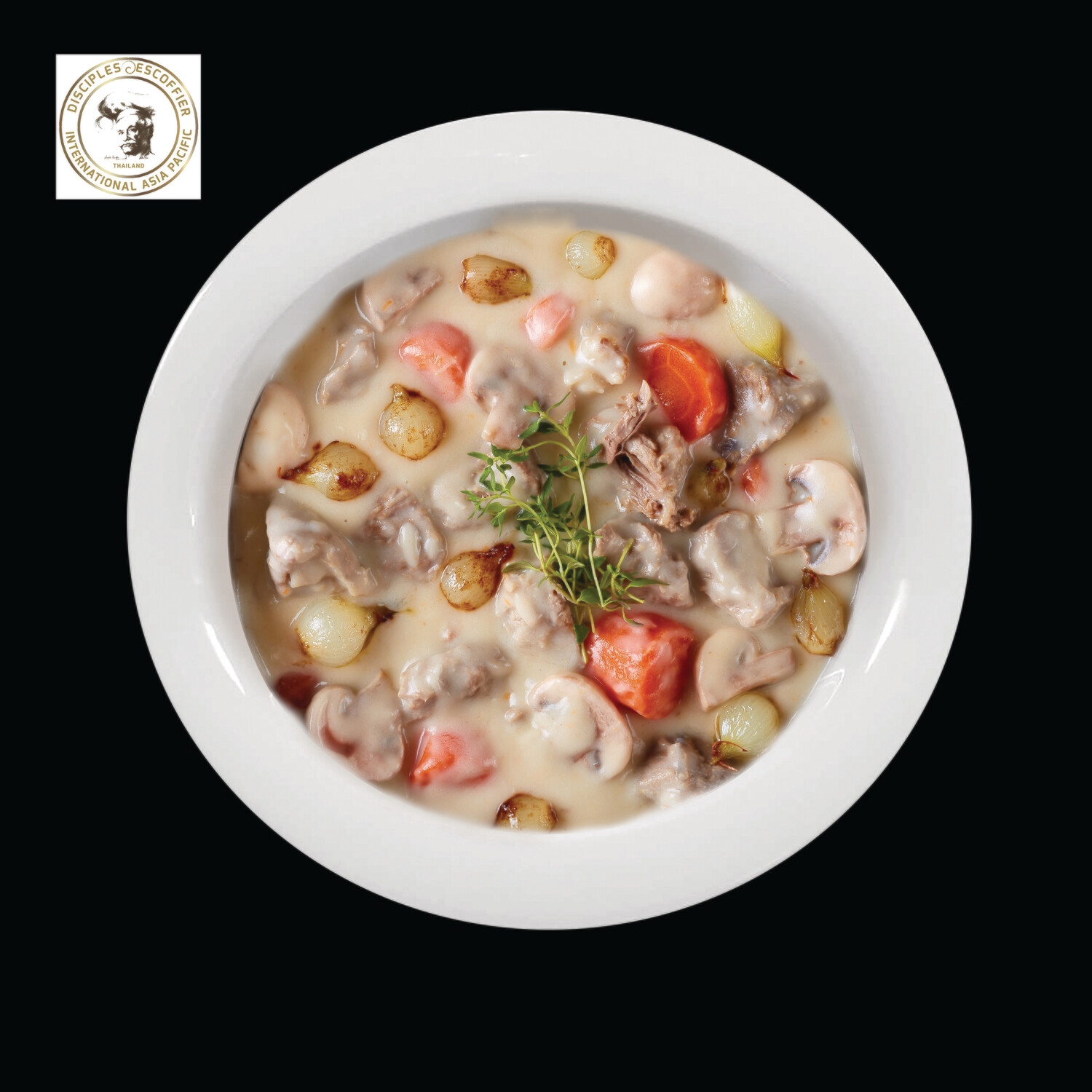 BLANQUETTE DE VEAU (veal in cream sauce) 1 PORTION deep-frozen