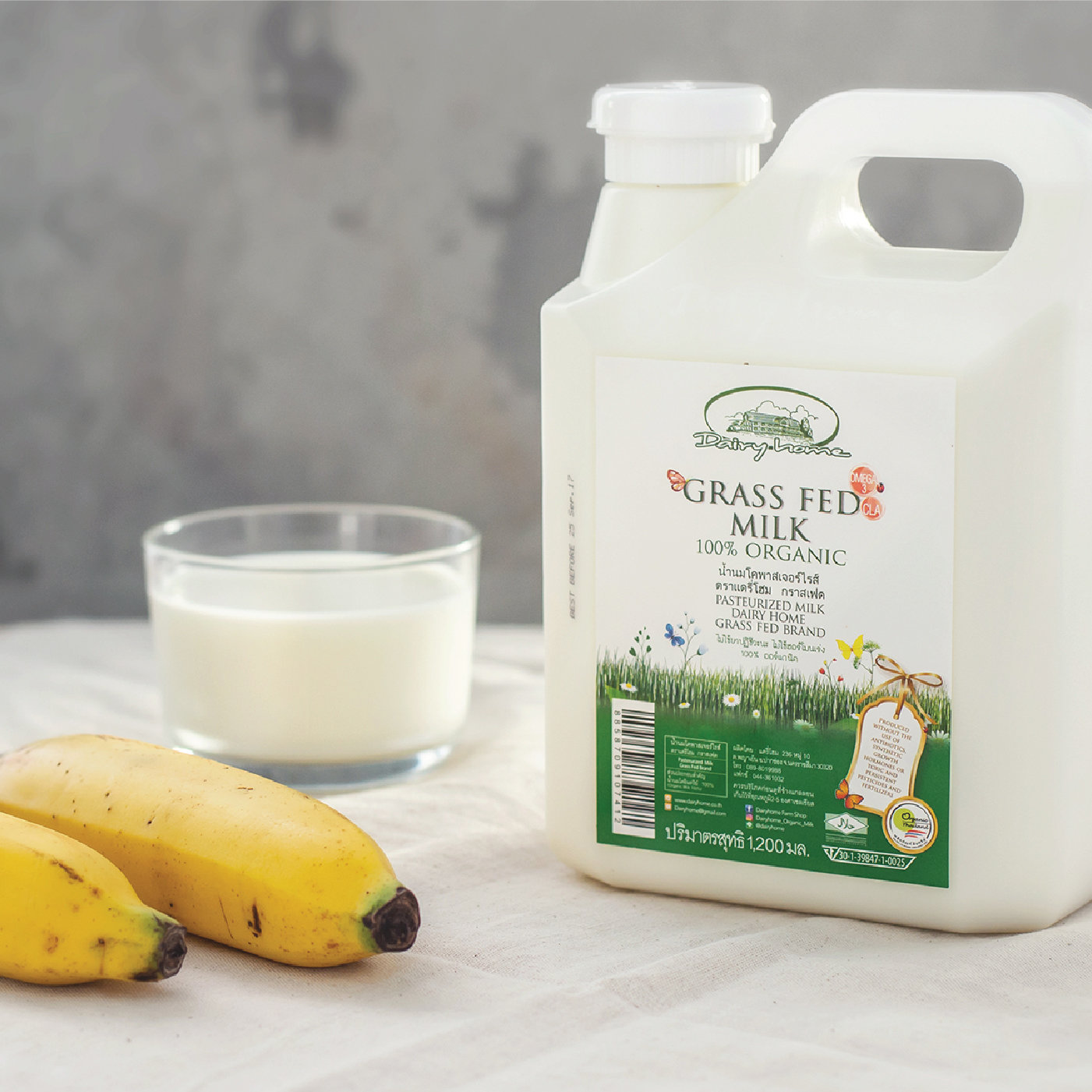 GRASS FED MILK 100% Organic - 1200 ml