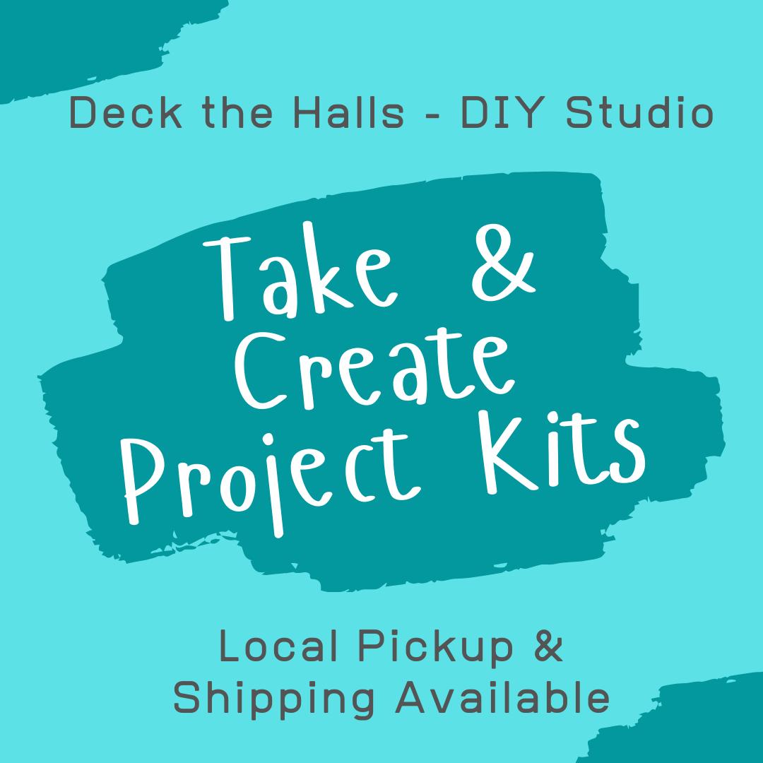 Take & Create Project Kits - Chunky Cutouts