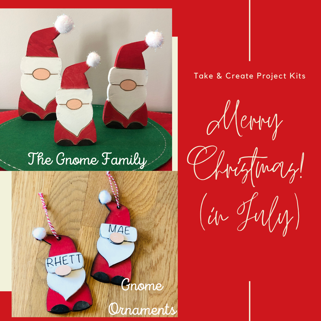 Gnomes - Christmas in July