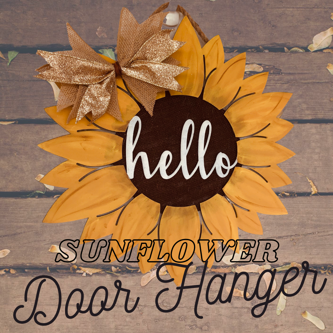 Sunflower Door Hanger Kit