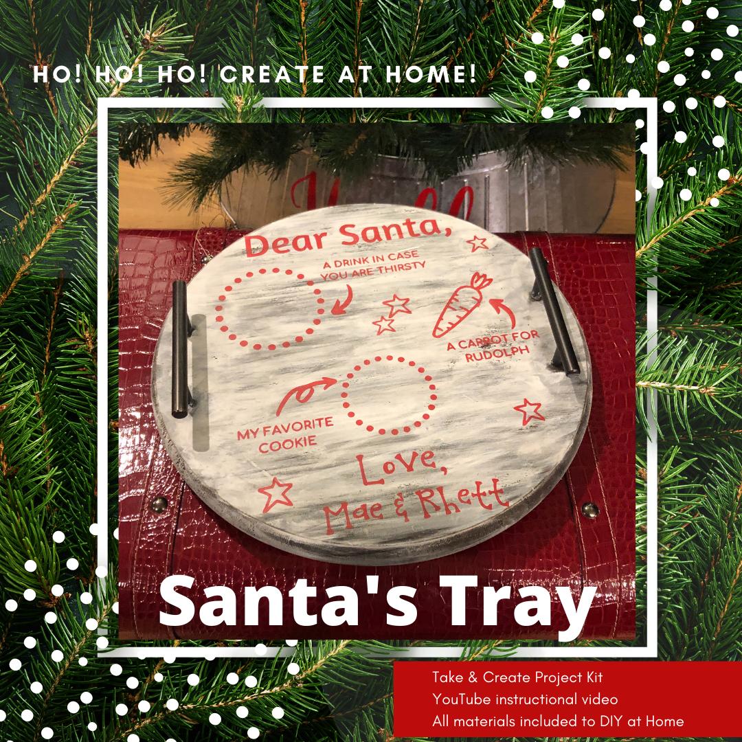 Santa's Tray Project Kit