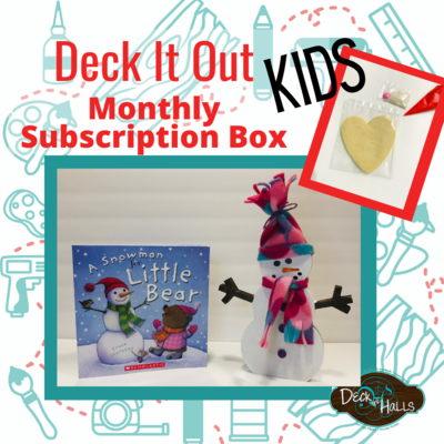 DECK IT OUT - Kids Monthly Subscription Box