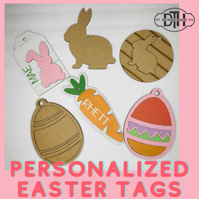 Personalized Easter Tags